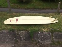 custom solar mini mal 8ft surfboard