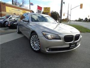 2009 BMW 7 Series 750Li,NO ACCIDENT,HEADSUP DISPLAY,DUAL DVD,360