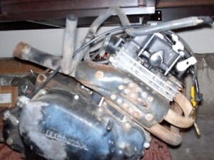 1982 HONDA XR250R Engine For Parts or Project for Rebuild