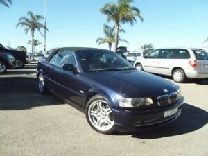 2001 BMW 320Ci E46 MY2002 Steptronic Blue 5 Speed Sports Automatic Coupe Cheltenham Kingston Area Preview