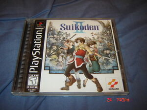 SUIKODEN 1 ET 2 PLAYSTATION 1 PS1 COMPLET SUPER RARE