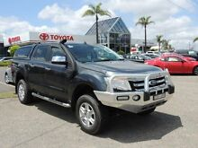 2013 Ford Ranger PX XLT 3.2 (4x4) Grey 6 Speed Automatic Dual Cab Utility Nowra Nowra-Bomaderry Preview