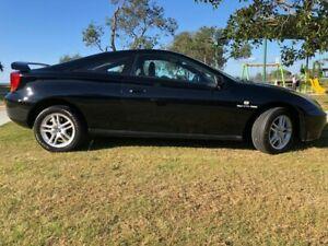 1999 Toyota Celica ZZT231R SX Black 4 Speed Automatic Liftback Tugun Gold Coast South Preview