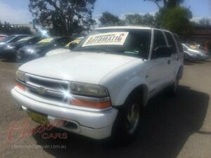 1998 Chevrolet Blazer LS White Automatic Wagon Lansvale Liverpool Area Preview
