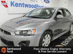 2016 Mitsubishi Lancer ES FWD with heated seats and the ride of