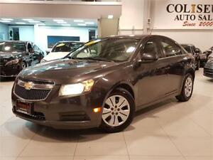 2014 Chevrolet Cruze LT-AUTOMATIC-BLUETOOTH-ONLY 75KM