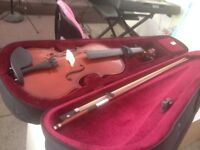 3/4 size violin with everything included.