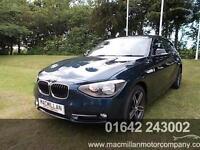 BMW 1 SERIES 118D SPORT, Blue, Manual, Diesel, 2013