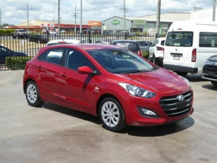 2017 Hyundai i30 GD4 Series 2 Update Active Red 6 Speed Automatic Hatchback Brendale Pine Rivers Area Preview