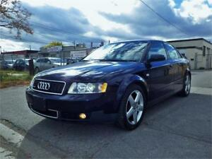 Audi A4 Quattro 1.8 T! LOW KM! TWO SETS OF TIRES, CERTIFIED