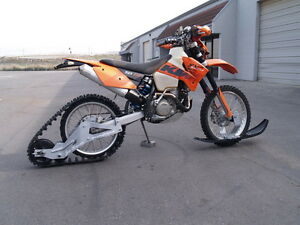 Attrax Snow bike motorcycle track kit