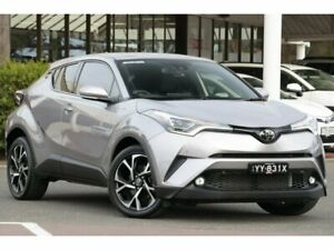 2018 Toyota C-HR NGX10R Koba S-CVT 2WD Shadow Platinum 7 Speed Constant Variable Wagon Christies Beach Morphett Vale Area Preview