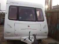 Elldis Odyssey 2 berth caravan 2004