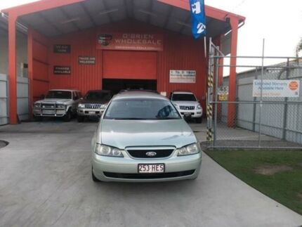 2003 Ford Falcon BA XT Silver Sports Automatic Wagon Clontarf Redcliffe Area Preview
