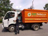Junk Hunters Ottawa:Full Service Junk Removal, Licensed &Insured