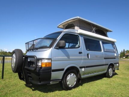 Toyota Hiace Discoverer Pop Top Campervan – AUTOMATIC - 5 SEATS Glendenning Blacktown Area Preview