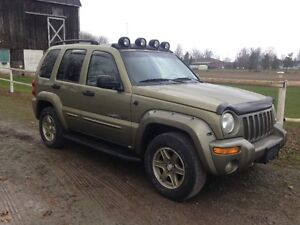 2002 Jeep Liberty Renegade Limited Edition