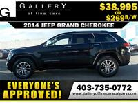 2014 Grand Cherokee LIMITED $229 bi-weekly APPLY NOW DRIVE NOW