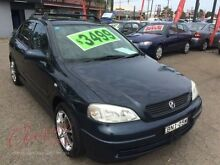2002 Holden Astra TS City Blue 5 Speed Manual Hatchback Lansvale Liverpool Area Preview