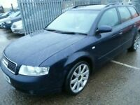 AUDI A4 AVANT 2.0 FSI 53 REG 10 MONTHS MOT LEATHER ALLOYS