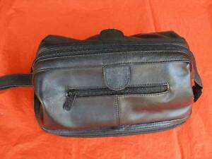 MEN'S LEATHER AMENITY KIT BAG Lane Cove Lane Cove Area Preview