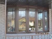 "VINYL WINDOWS - ENERGY STAR® & Doors, 5"" & 6"" Eaves, Siding"