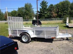 Millroad All Aluminum Utility Trailers – All Sizes and All Model