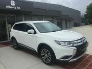 2017 Mitsubishi Outlander ZK MY17 LS 4WD White 6 Speed Constant Variable Wagon Fyshwick South Canberra Preview