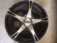 """Set of 17"""" alloys - ideal spare for your winter tyres"""