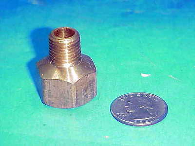 """20 ea) NEW Brass Fittings  1/2"""" Female to 1/4"""" Male Adapters cost $4.25 ea"""