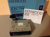 Kenwood KCD C715 10 disc multi-disc CD changer.
