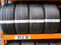 R87 SET OF 4 TYRES 2X 245/45/19 102H 2X 275/40/19 102H PIRELLI P ZERO NERO ALL SEAZON 4X7,5MM TREAD