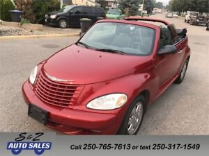 2005 Chrysler PT Cruiser Touring Convertible 77000 km!
