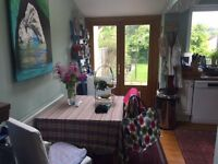 Be my lodger in lovely 3 bed, terraced, Larkhall house available now. Large, airy and light room.