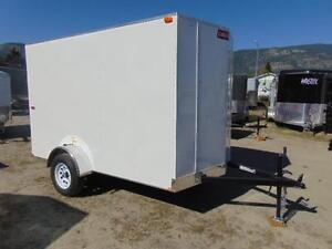 2016 Mirage 6X10 V-Nose Cargo Trailer w. Extra Height and Ramp