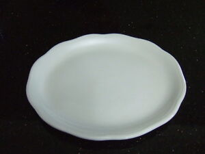 white Duraline Grindley Super Vitrified Hotelware England oval p