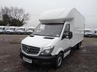 Mercedes-Benz Sprinter 3.5T Luton DIESEL MANUAL WHITE (2016)