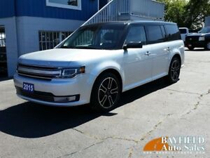 2015 Ford Flex Limited AWD **7 Passenger/Leather/Vista Roof**