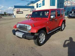 """2011 Wrangler Unlimited Sahara $260.65 bw """"EVERYONE APPROVED"""""""