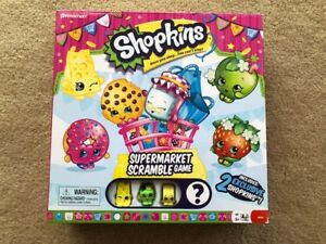 *USED ONCE* Shopkins game ~ *perfect, like new* condition