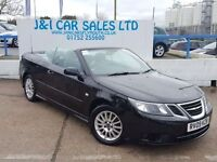 SAAB 9-3 1.9 LINEAR SE TID 2d AUTO 150 BHP A LOW PRICE CONV (black) 2009