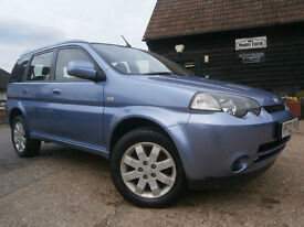 0303 HONDA HR-V 1.6i CVT AUTOMATIC 4X4 A GENUINE 46K 2 OWNER SAME FAMILY SUPERB