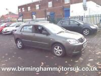2002 (02) Toyota Corolla 1.6 VVT-I T3 AUTOMATIC 5DR Hatchback GREY + LOW MILES