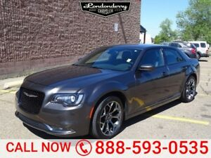 2016 Chrysler 300 S Leather,  Heated Seats,  Back-up Cam,  Bluet