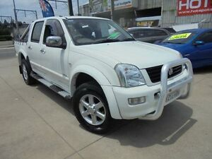 2005 Holden Rodeo RA MY05.5 LT White 5 Speed Manual 4D Utility Holroyd Parramatta Area Preview