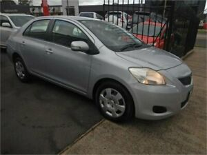 2009 Toyota Yaris NCP93R 08 Upgrade YRS Silver 4 Speed Automatic Sedan Burwood Whitehorse Area Preview