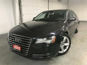 2011 Audi A8 Premium|NAV|CAM|SUNROOF|LEATHER|NO ACCIDENTS