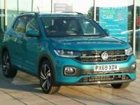 2019 Volkswagen T-Cross 1.0 TSI 115 R-Line 5dr Hatchback Petrol Manual