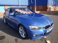 64 BMW 318D M SPORT DIESEL BUSINESS MEDIA *SATNAV*LEATHER* £30 TAX