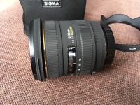 Sigma 10-20mm f4-5.6 EX DC HSM - Canon fit lens